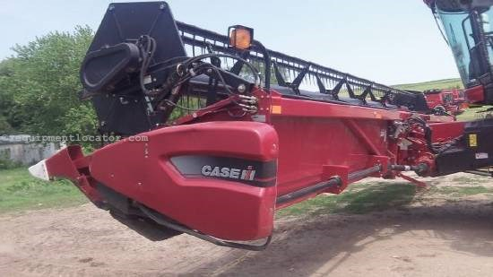 2007 Case IH 2020', (7010/8010), HHC, Auto Reel Speed           Header-Flex For Sale