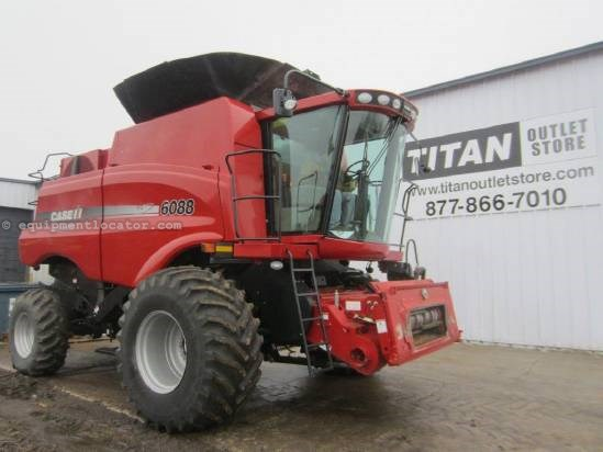 2010 Case IH 6088, UPTIME READY!, 500 Sep Hrs, FT, AHHC Combine For Sale