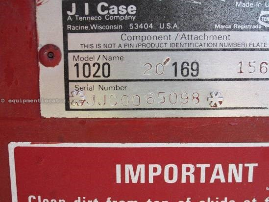 1990 Case IH 1020 Header-Flex For Sale