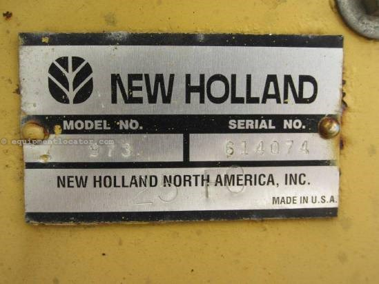 1998 New Holland 973 Header-Flex For Sale