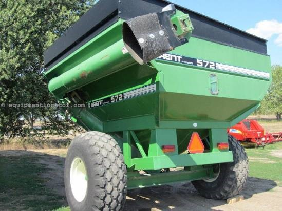 1996 Brent 572 Grain Cart For Sale