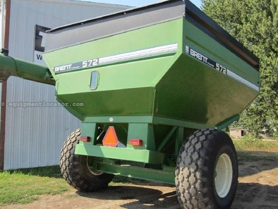 1996 Brent 572 Grain Cart For Sale