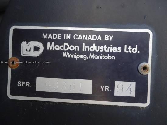 1994 MacDon 960 Header-Draper For Sale