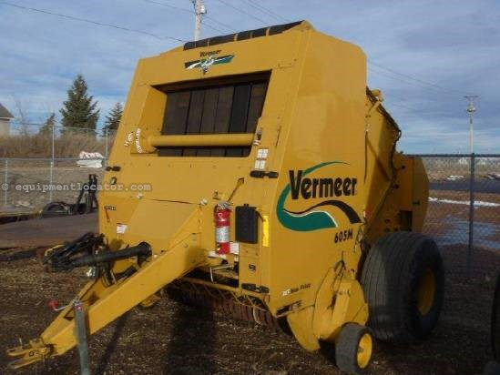 2005 Vermeer 605 Baler-Round For Sale