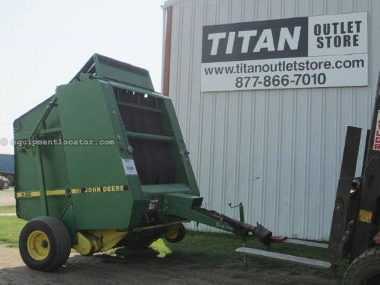 1991 John Deere 535 Baler-Round For Sale