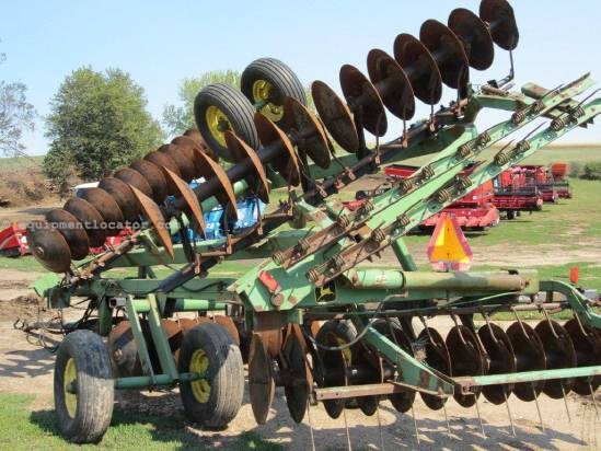 NULL John Deere 220 Disk Harrow For Sale