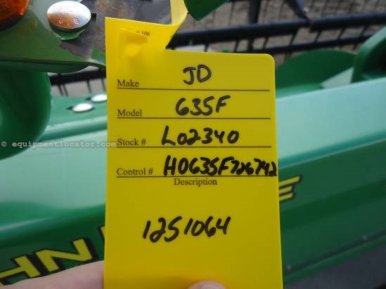 2008 John Deere 635 Header-Flex For Sale