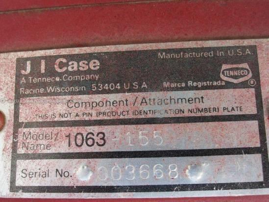 1987 Case IH 1063 Header-Corn For Sale