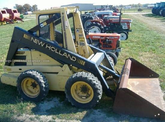 new holland l555 skid steer specs