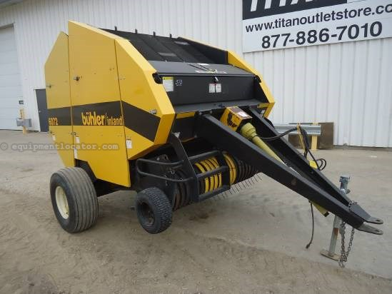 NULL Buhler 6072 Baler-Round For Sale