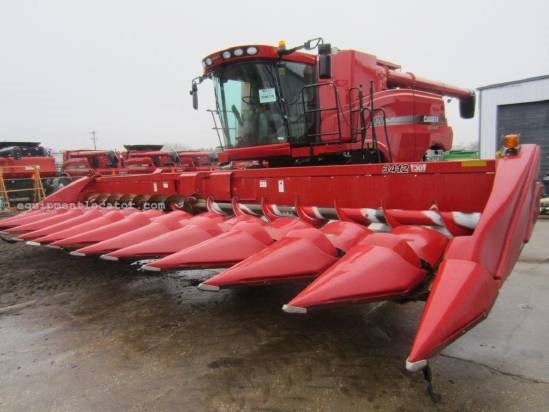 2010 Case IH 3412, 12R30, Low Prof, FT, Knife Rolls Header-Corn For Sale