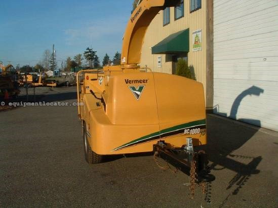 2002 Vermeer BC1000XL Chipper-Hand Fed For Sale at