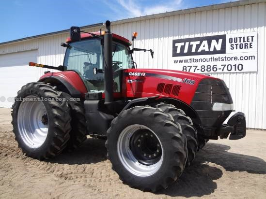 2008 Case IH MX305 (2750 hrs), 2000lb Wgts, Leather Seat  Tractor For Sale