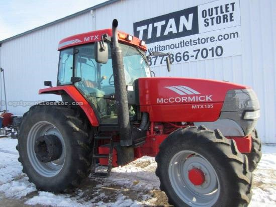 2005 McCormick MTX135 Tractor For Sale