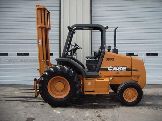 Case 586g Fork Lift Control Levers : Case g wd lift truck fork rough terrain for sale