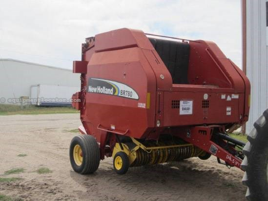 2006 New Holland BR780 Baler-Round For Sale