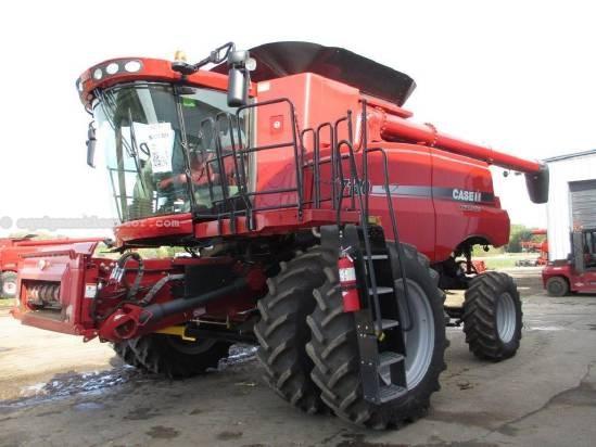 2011 Case IH AF7120, 505 Sep Hr, FT, AHH, Fore/Aft, Chopper Combine For Sale