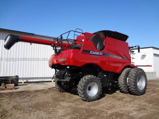 2009 Case IH 8120-Sep Hrs 846, UPTIME READY, Dls, 24ft, RT, FT Combine For Sale