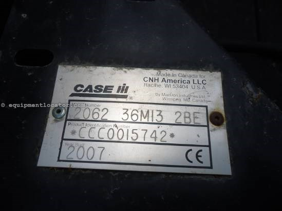 2007 Case IH 2062 Header-Flex For Sale