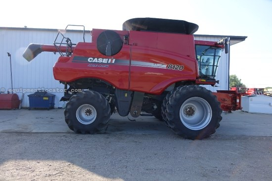 2010 Case IH AF8120, 949 Sep, Warranty*, AFX Rotor, RT, FT Combine For Sale
