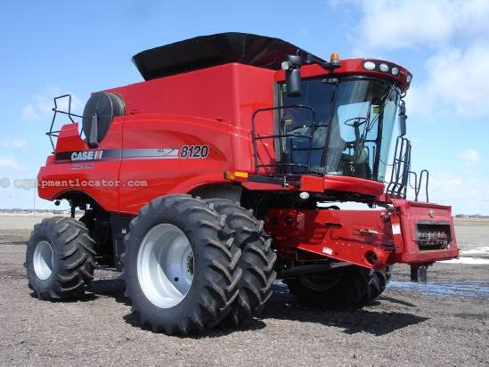 2011 Case IH AF8120, 315 Sep Hrs, FT, AHH, HD Rear Axle,Chopper Combine For Sale
