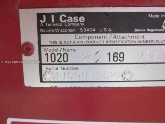 1989 Case IH 1020 Header-Flex For Sale