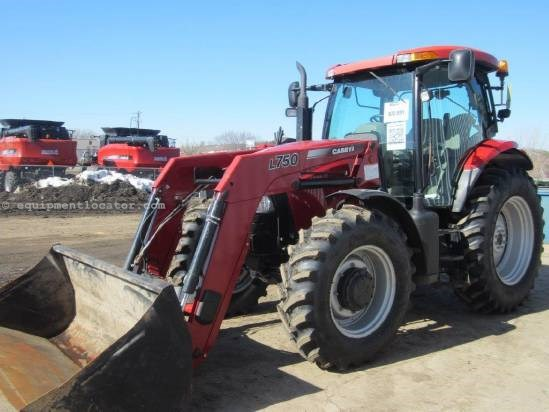2010 Case IH MAXXUM 140 Tractor For Sale
