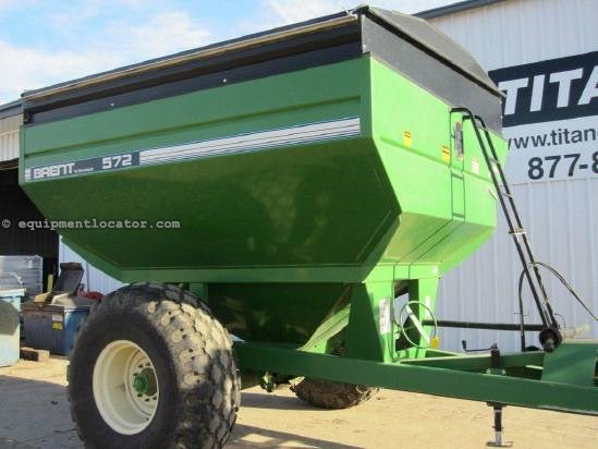 1997 Brent 572 Grain Cart For Sale