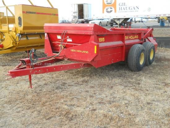 1995 New Holland 195 Manure Spreader-Dry/Pull Type For Sale