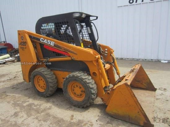 2008 Case 420 Skid Steer For Sale