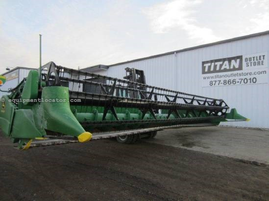 "2009 John Deere 635, 35', Fits 9760/9770, Fore/Aft, FT, 2"" Cut Header-Flex For Sale"