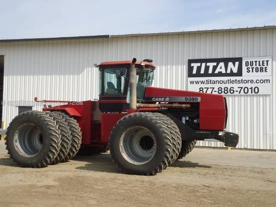 1996 case ih 9380 tractor for sale stock 1293221 l02370 at titan rh titanoutletstore com Tracks Case IH 9380 Case IH 9370