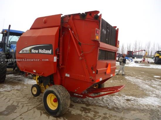 2004 New Holland BR780 Baler-Round For Sale