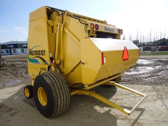 2008 Vermeer 605 Baler-Round For Sale