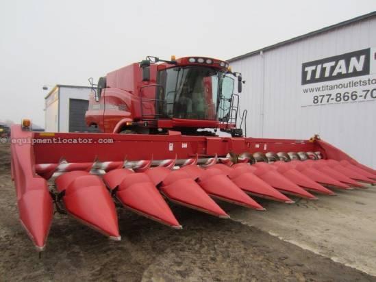 2010 Case IH 3412, 12R30, Hyd Dk Plates, 7010/7120/8010/8120 Header-Corn For Sale