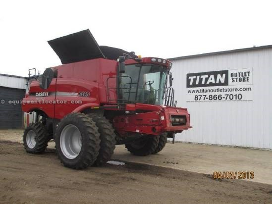 2010 Case IH 8120, 642 Sep Hrs, UPTIME READY!, Auto Pilot Combine For Sale