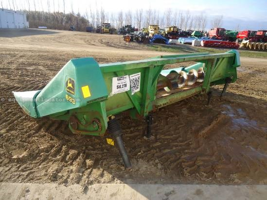 1976 John Deere 643 Header-Corn For Sale