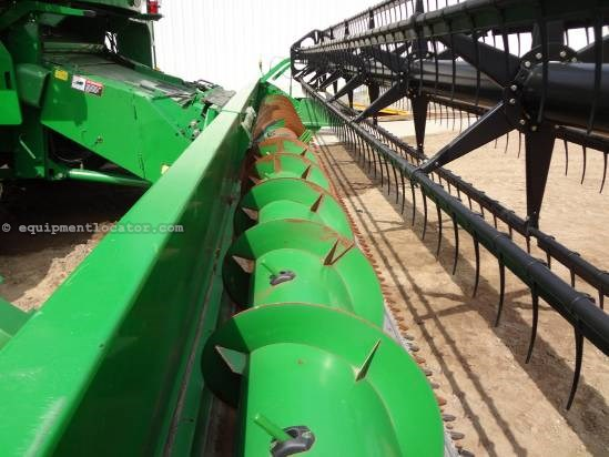 2004 John Deere 630F - Full Finger Auger (9660,9760,9670,9770) Header-Flex For Sale