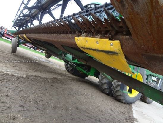 2005 John Deere 936D - 36 ft, Transport (9760,9860,9770,9870) Header-Draper For Sale