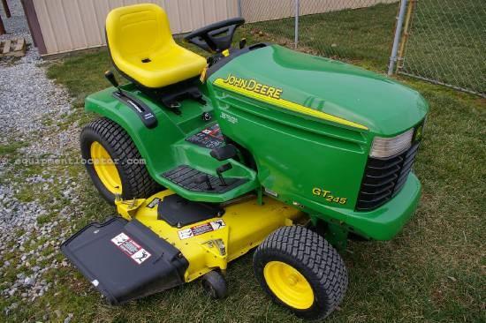 John Deere 245 Excavator Specs : John deere gt riding mower for sale at equipmentlocator