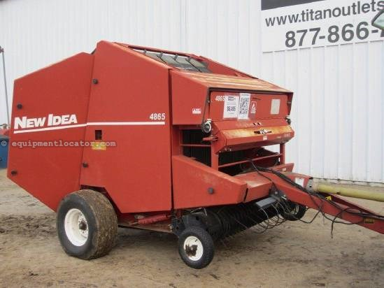 1997 New Idea 4865 Baler-Round For Sale