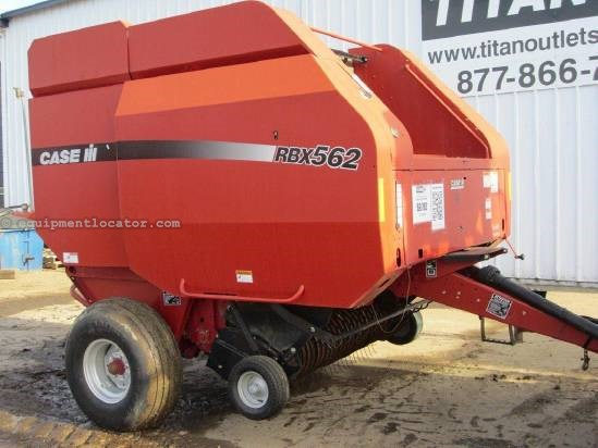 2004 Case IH RBX562 Baler-Round For Sale