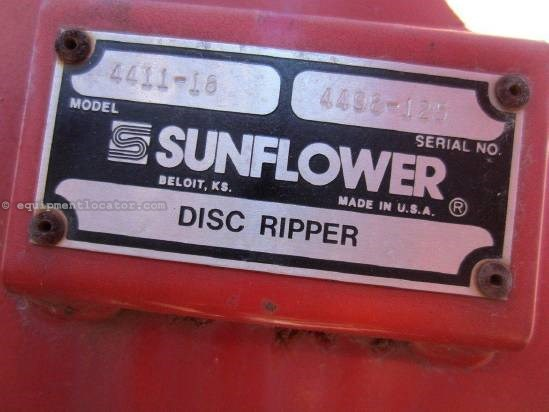 NULL Sunflower 4411 Disk Ripper For Sale