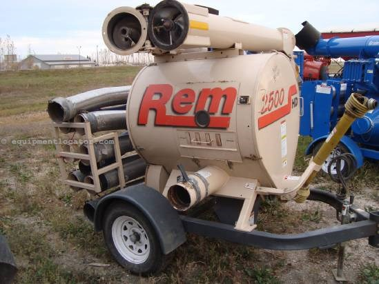 NULL REM Manufacturing 2500 Grain Vac For Sale