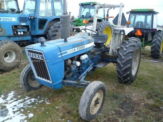 Ford 3600 Tractor Data : Ford tractor specs