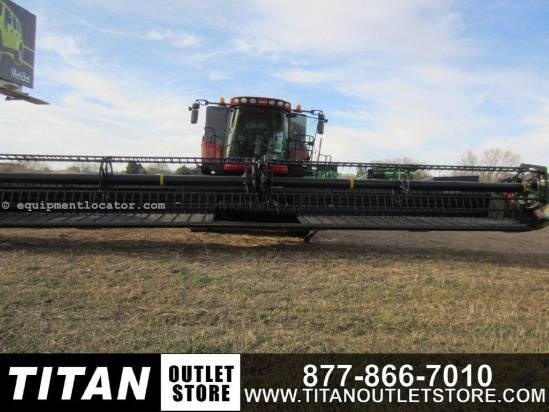 "2010 Case IH 2162, 40', Fits 7010/8010/8120/8130, 3"" Cut, Poly Header-Draper For Sale"