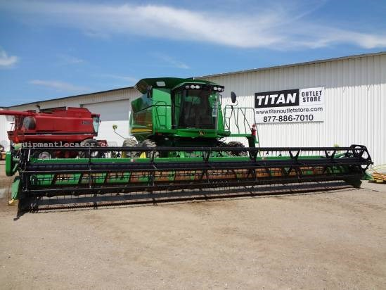 2005 John Deere 635F - Contour, AHHC (9660,9760,9860,9770,9870) Header-Flex For Sale