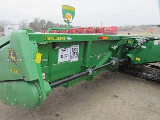 2009 John Deere 612 Header-Corn For Sale