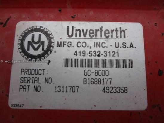 2000 Unverferth 8000 Grain Cart For Sale
