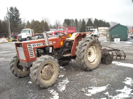 Hesston 45 66 Tractor For Sale At Equipmentlocator Com